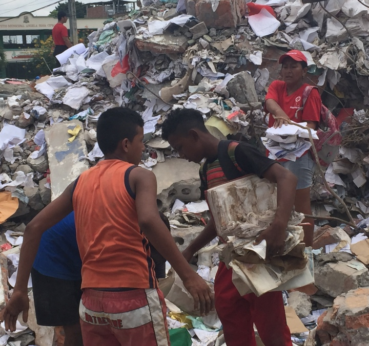 Earthquake in Ecuador: Crisis Response